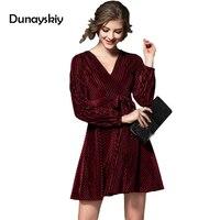 ชุดใหม่ของผู้หญิงยุโรปอเมริกันสไตล์ฤดูใบไม้ร่วงฤดูหนาว