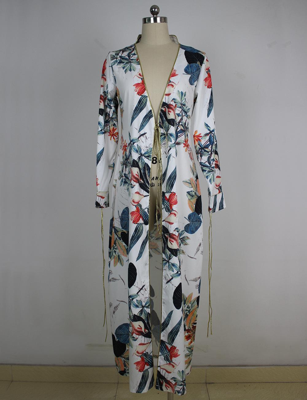 HTB1LBRJQXXXXXaFaXXXq6xXFXXXa - Long Sleeve Ethnic Floral Print White Shirt Women Kimono Blusas