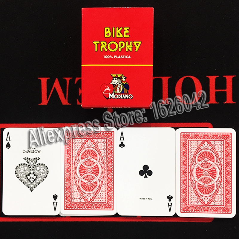 Carte Poker Range double deck 100/% plastica
