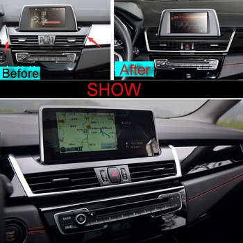 1 PCS Car Styling DIY New ABS Chrome The Control Outlet Light Box Cover Case Stickers for Bmw 2 Series 218i 2014 Accessories