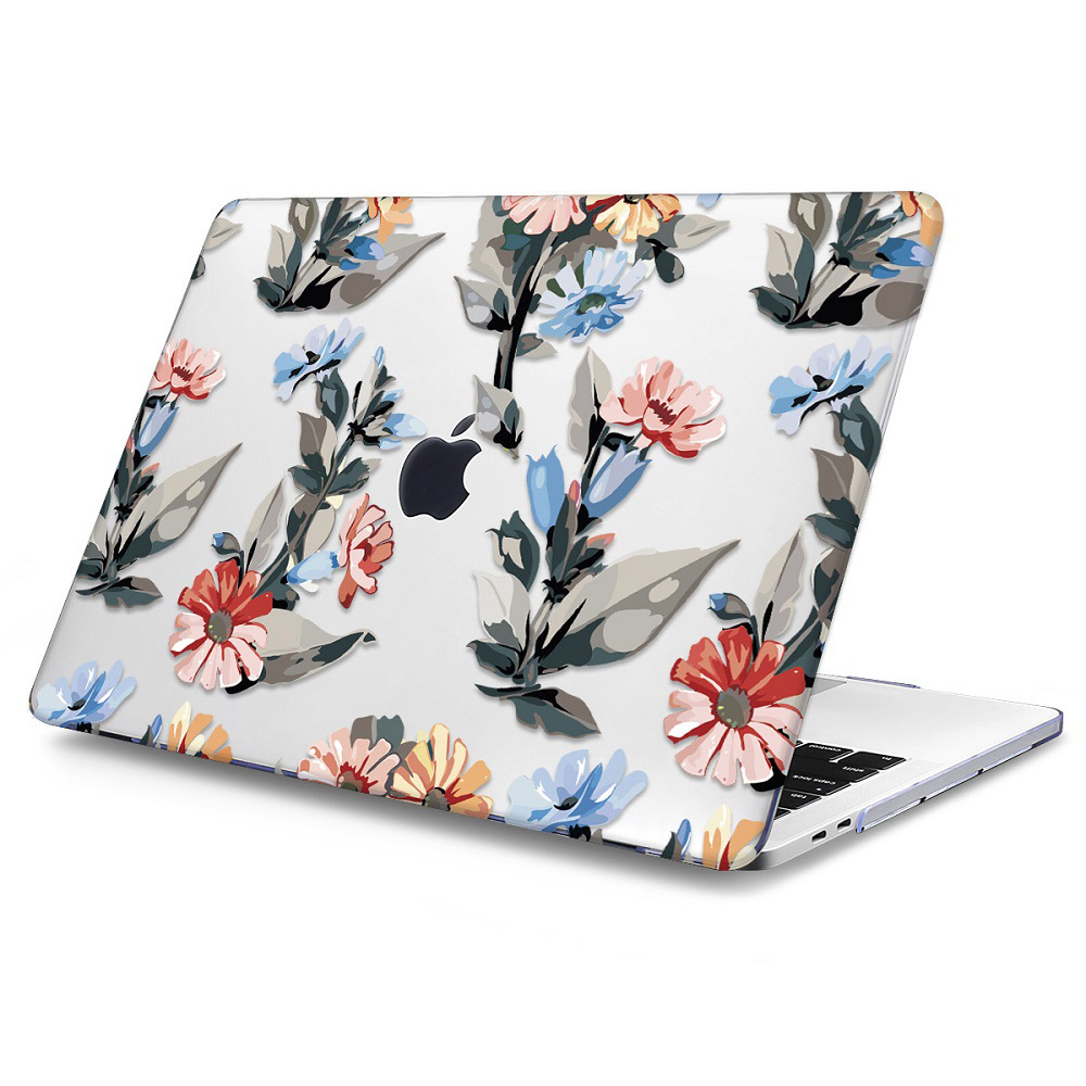 Floral Printing Hard Case for MacBook 121