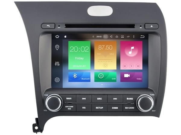 Android 6.0 CAR Audio DVD player FOR KIA K3/FORTE/CERATO 2013 gps Multimedia head device unit receiver BT WIFI