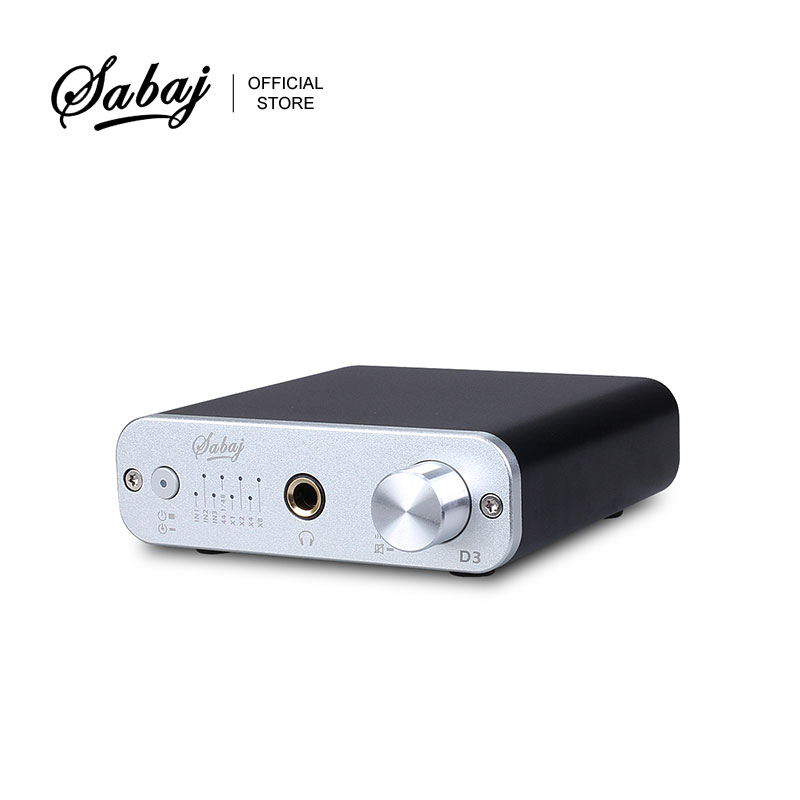 Back To Search Resultsconsumer Electronics Headphone Amplifier Sabaj D3 Audio Dac Headphone Amplifier With Optical Coaxial 32bit/384khz Usb Input Black Silver