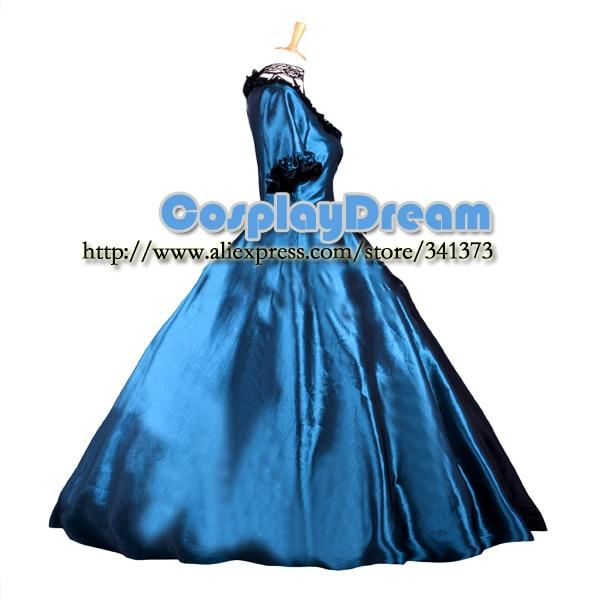 Custom made Elegant classic gothic victorian style ball gowns dress lolita  long dress evening dress Gothic Lolita costume-in Anime Costumes from  Novelty ... d6c9fe75faac