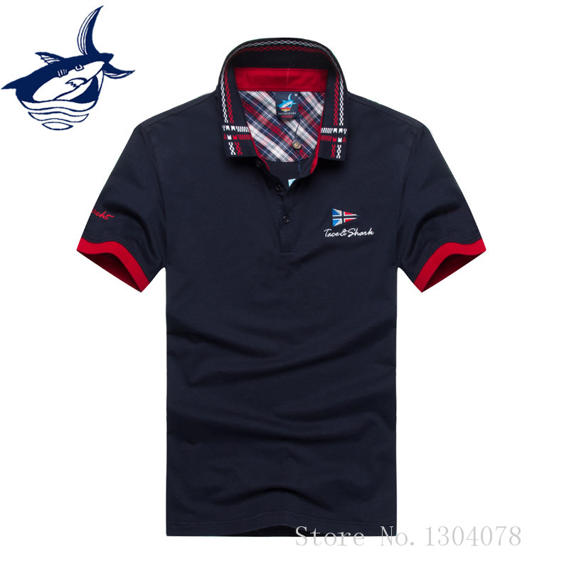 Embroidery Collar Mens Casual Polo Shirts Comfortable Cotton Solid Color Brands Clothing For Man's Wear Short Sleeve POLO shirt