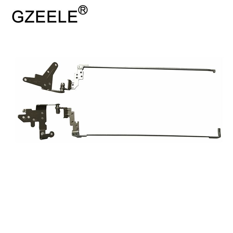 GZEELE NEW For HP PROBOOK 450 G2 455 G2 450G2 455G2 LCD Screen Support Bracket Hinges Left &Right L&R AM15A000100 AM15A000200