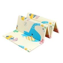 200*180*1CM Foldable Baby Play Mat Climbing Pad Foam XPE Environmental Tasteless Parlor Game Blanket