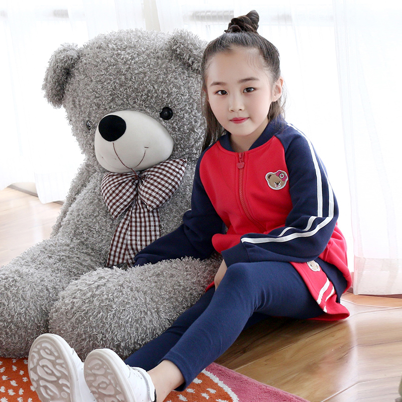Design Spring autumn cotton coat and skirtpants Girls clothing set  for 2 3 4 5 6 7 8 9 10 12 years old Girls school clothes girls clothes 2017 autumn spring new fashion brand children s clothing for 2 3 4 5 6 7 8 9 10 years old kids tops tee and pants