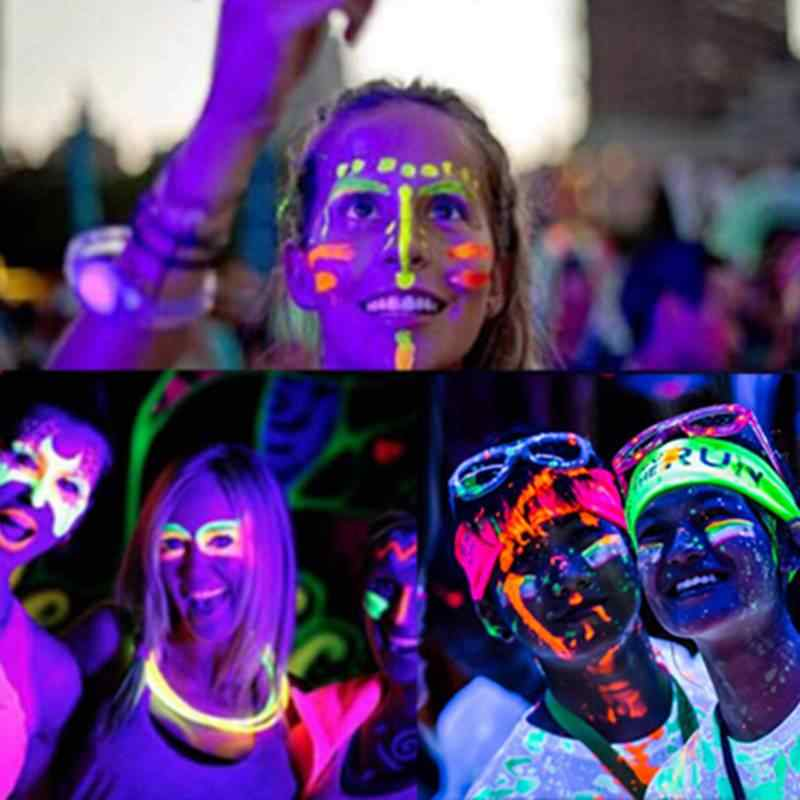 10g Luminous Party DIY Bright Glow in the Dark Paint Star Wishing Bottle Radiationless Fluorescent Powder Nail Glitter Romance