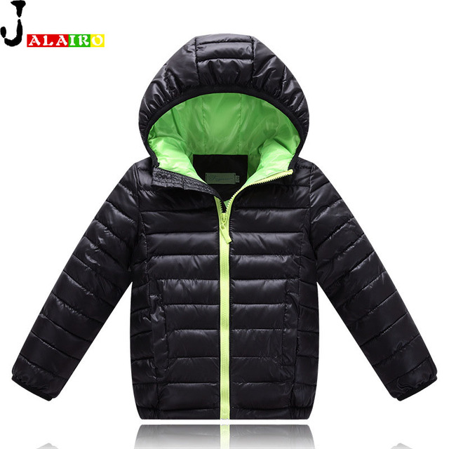 2016 Boys Winter Jacket Thick Girls White Duck Down Jackets Kids Girl Down Jacket Children Duck Feather Kids dwon coat 4 to 12Y