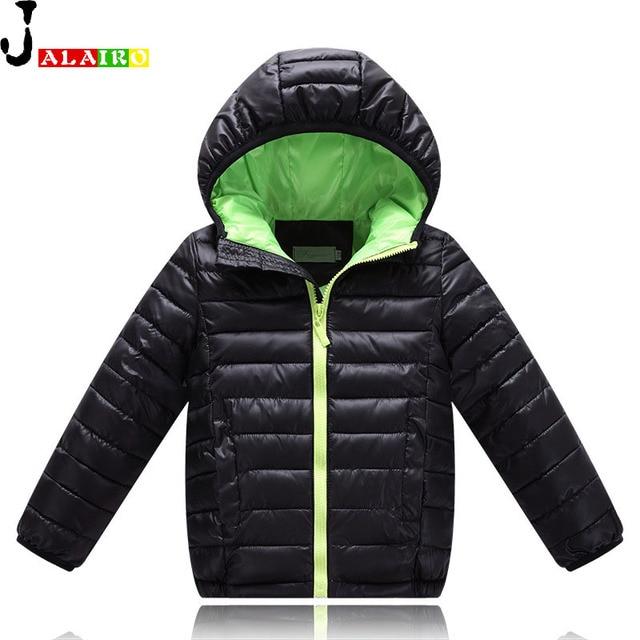 2016 Boys Winter Jacket Thick Girls White Duck Down Jackets Kids Girl Down Jacket Children Duck Feather Kids dwon coat 4 to 12Y