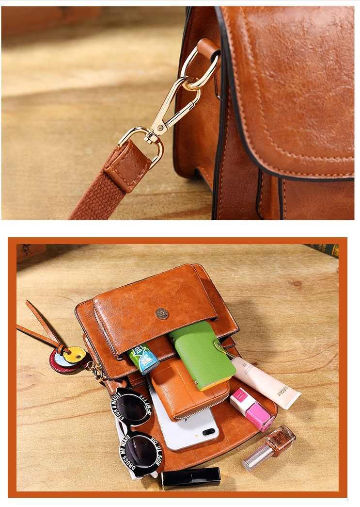 Kadın çantası hakiki deri yüksek kaliteli marka lüks kadın deri çantalar kadınlar için Crossbody çanta çantalar ve çanta T8020