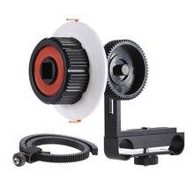 NEW CS FO ILDC Aluminum Alloy font b Camera b font Follow Focus with Gear Ring