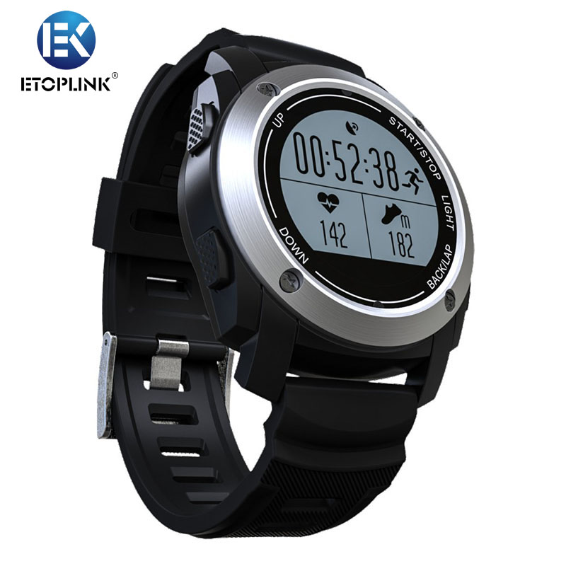 Prix pour S928 GPS en temps Réel Moniteur de Fréquence Cardiaque Smart Watch Air Pression Environnement Température Hauteur 3D Accéléromètre + Gyroscope