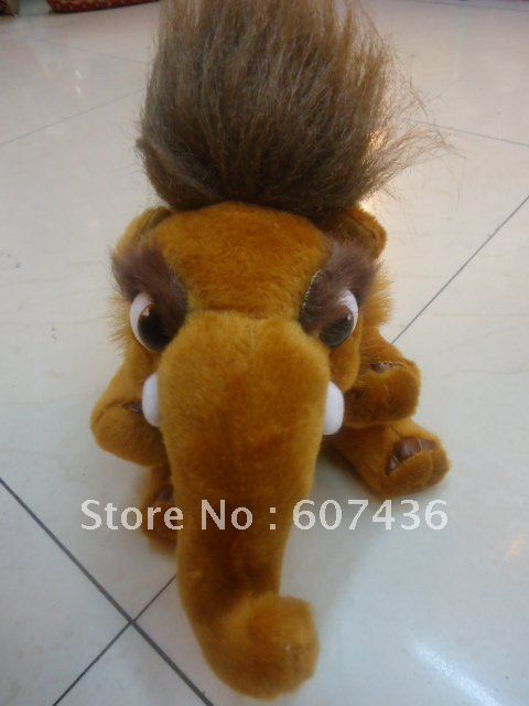 "Wholesale Free shipping NEW 8"" BABY MAMMOTH PEACHES STUFF"