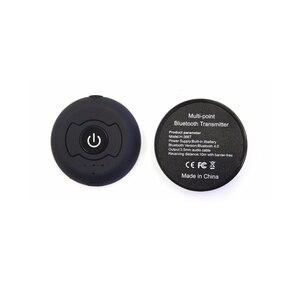 Image 3 - Bluetooth 4.0 マルチポイントステレオオーディオトランスミッター音楽信号送信スマートテレビ/DVD/MP3 Can ペア 2 ヘッドフォン 1 時間