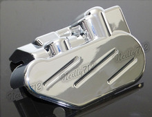 Задний Тормозной Суппорт Обложка Chrome Для HONDA VTX1800 VTX 1800C 1800F 1800N 1800R 1800 S 1800 Т 2002 2003 2004 2005 2006 2007 2008