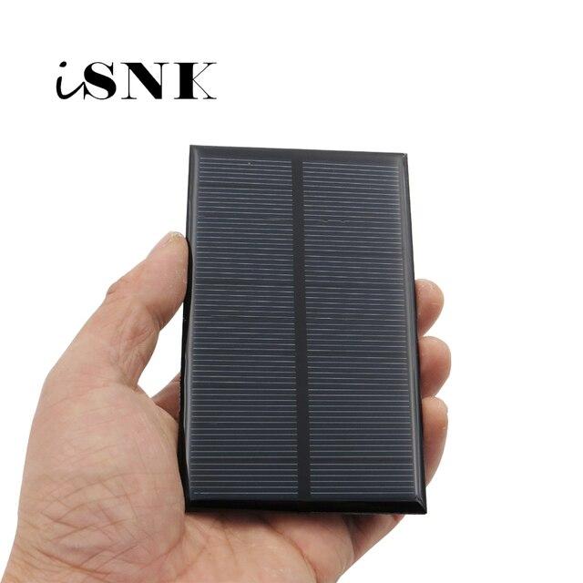 Zonnepaneel 5V Mini Zonnestelsel Diy Voor Batterij Mobiele Telefoon Opladers Draagbare 0.7W 0.8W 1W 1.2W 2.5W 4.2W Zonnecel