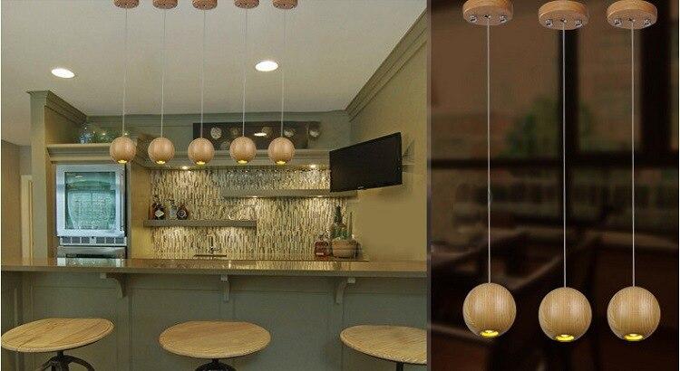 Kronleuchter Modern Esstisch ~ Moderne holz lampe holz kronleuchter ball led licht baum lampen