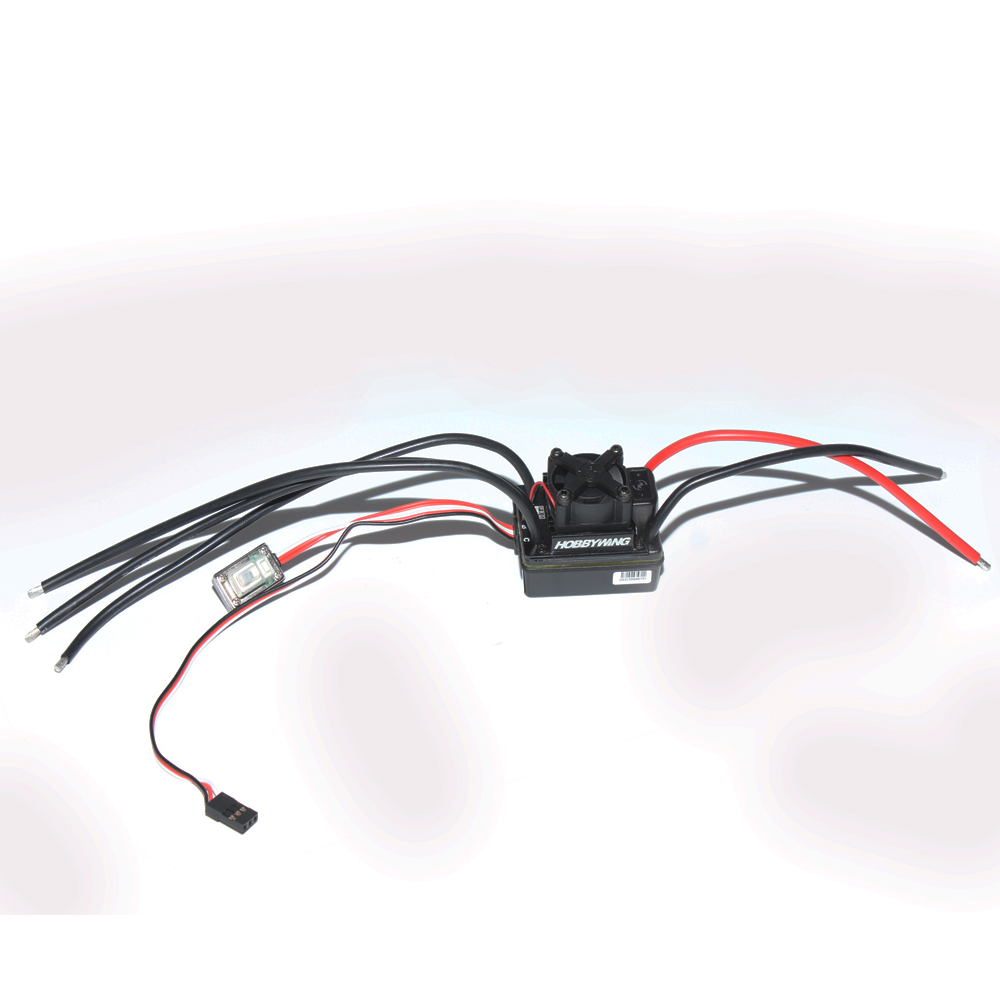 Hobbywing EZRUN-WP80A BEC 2-3S Lipo Speed Controller Waterproof Brushless ESC for 1/10 RC Car Crawler F17813 fendi кожаный ремень для сумки