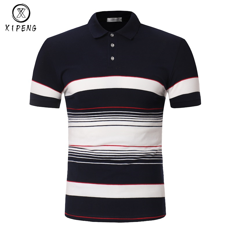 New 2019 Brand Men's   Polo   Shirt High Quality Men Cotton Short Sleeve shirt jerseys Summer Breathable Mens   polo   Shirts masculino