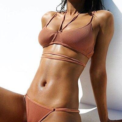 GLANE Краткое 2017 Hot Sexy Топ Женщины Push Up Бюстгальтер Комплект бикини Купальник Треугольник Купальники Купальник Летний Пляж Dress США