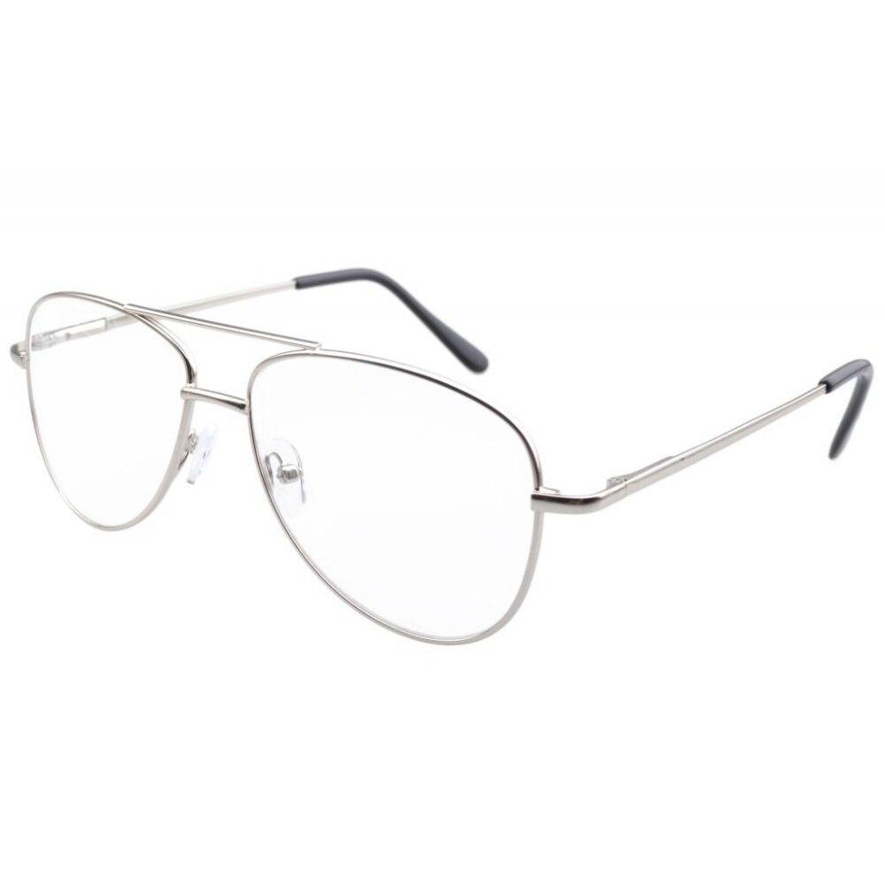 R1502 Eyekepper Metal Frame Spring Hinges Reading Glasses+0.00/0.5/0.75/1.00/1.25/1.5/1.75/2.0/2.25/2.5/2.75/3.0/3.5/4.0/4.5/5.0