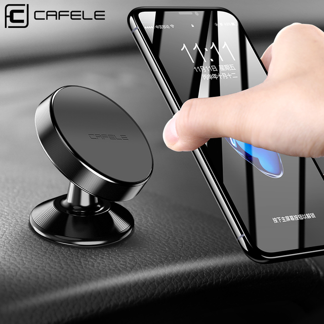 CAFELE 4 Types Magnetic Car Phone Holder Stand For iPhone XS X Samsung S10 S9 Plus Magnet Mount Car Holder Mobile Phone Holder