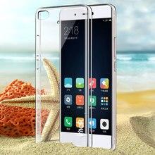 Imak Ультра Тонкий Жесткий Пластмассовый Корпус Для Xiaomi MI 5S MI5S прозрачный Корпус Прозрачного Хрусталя Задняя Крышка Телефон Случаях Для Xiaomi M5 mi5