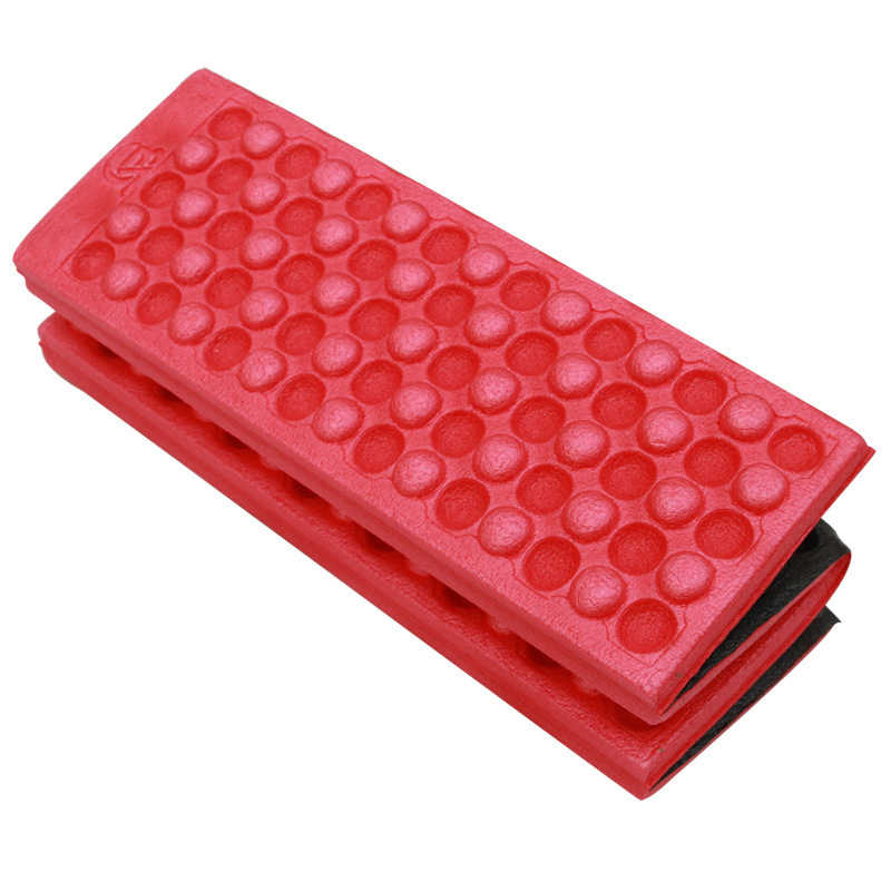 소프트 방수 듀얼 캠핑 하이킹 피크닉 휴대용 쿠션 좌석 패드 야외 접는 캠핑 moistureproof 쿠션 매트리스 패드
