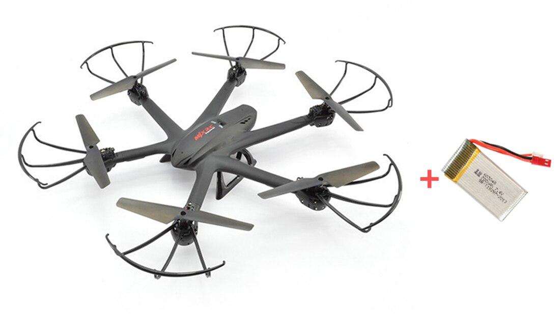 ФОТО F15066-A/67 MJX X600 2.4G 6-Axle RC Drone Hexacopter UAV Auto Return Headless RTF Helicopter + 1pc Spare Battery (No Camera)