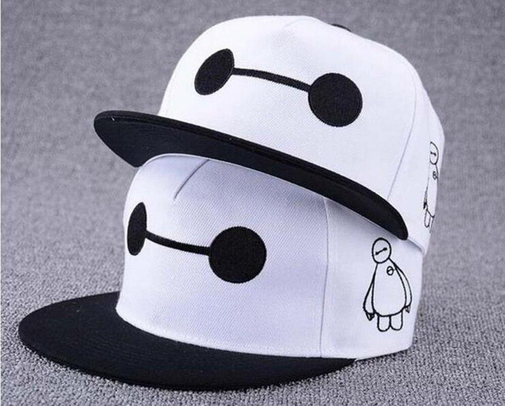 Besar baru Hero 6 Baymax topi snapback f68f27e4b5a