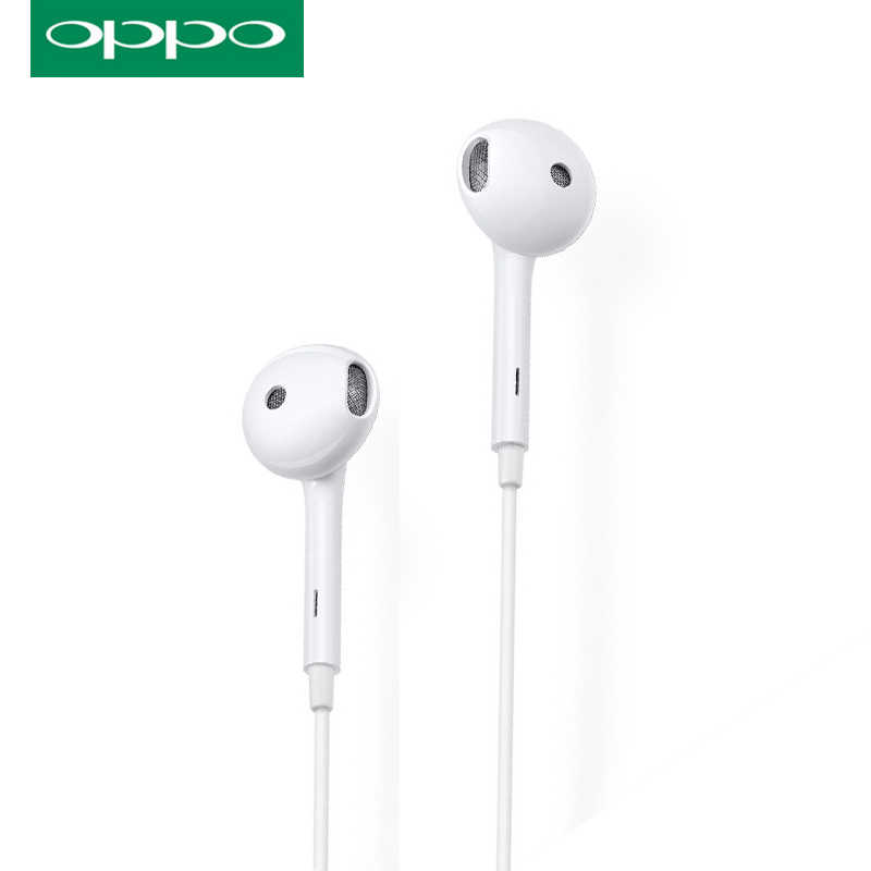 OPPO Original MH135 R15 Earphone with Mic Wired Controller Headset for OPPO R15 Xiaomi,Huawei,Honor,Smartphone with Storage Box