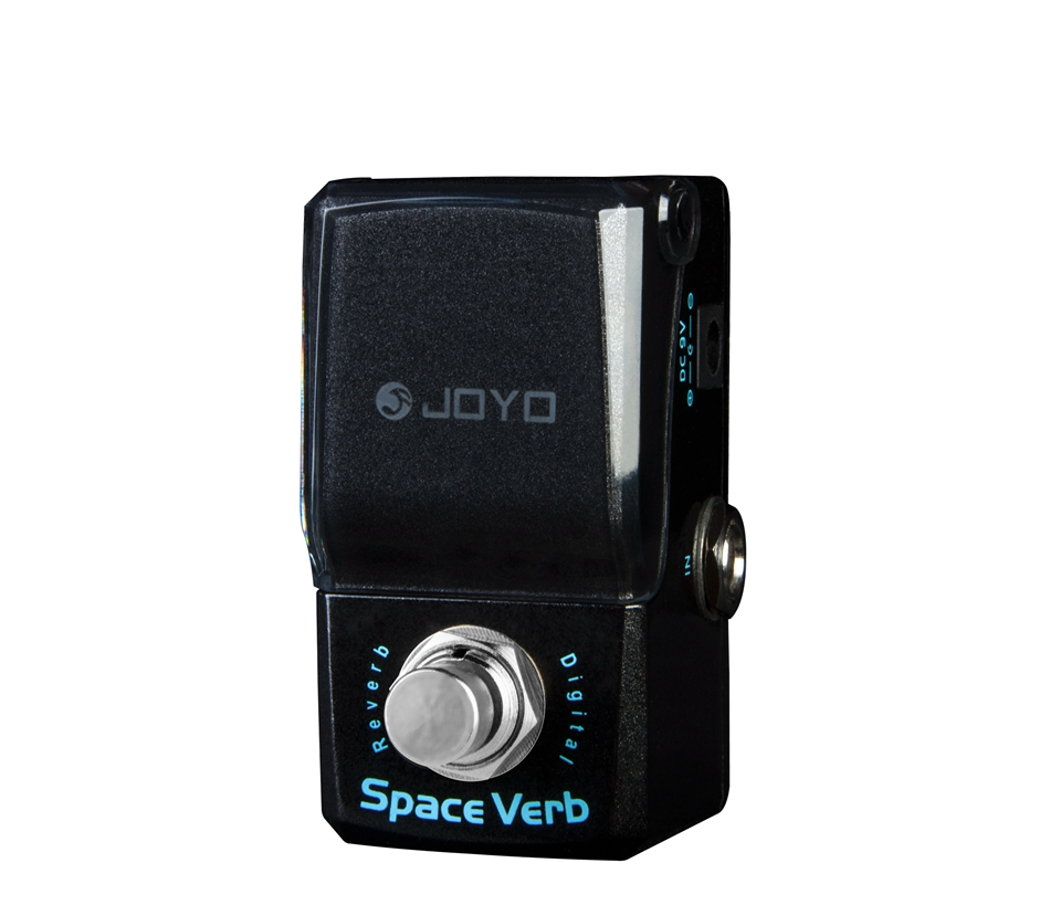 JOYO Mini Electric Guitar Effect Pedal JF-317 Space Verb Digital Reverb Four Classic Reverb Sound True Bypass Guitar Accessories joyo jf 329 iron loop digital phrase looper guitar effect pedal true bypass guitar pedal guitar accessories