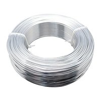 50m Roll Aluminum Wire Jewelry Craft Wire String 2mm In Diameter Silver Gold Black