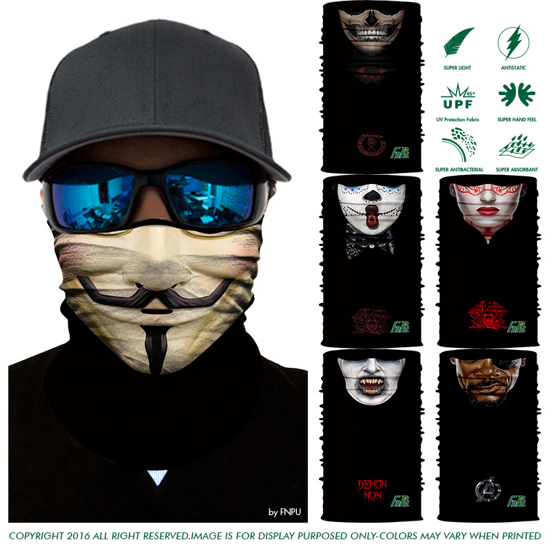 Face series Quick-drying hunting Outdoor Magic scarf wind proof Sunscreen seamless braga cuello Variety for fishing cycling Face series Quick-drying hunting Outdoor Magic scarf wind proof Sunscreen seamless braga cuello Variety for fishing cycling
