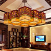A1 Chinese Style Pendant Lights Solid Wood Living Room Dining Room Pendant Lamp Creative Bedroom Study