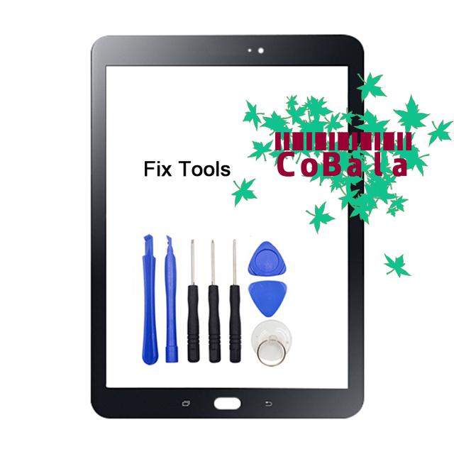 "1Pcs Black White Gold For Samsung Galaxy Tab S2 9.7 2015 T810 T815 Front Glass 9.7"" Touch Screen LCD Outer Panel+Tools"