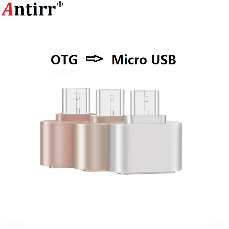 De Voluntad Fuerte Adaptador Otg Micro Usb A Usb 2,0 Convertidor Otg Cable Para Android Samsung Galaxy Xiaomi Tablet Pc Flash Ratón Teclado Otg