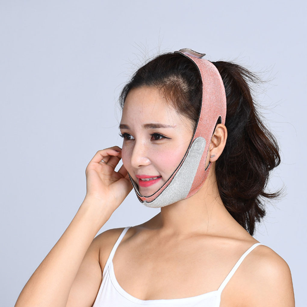 1PC New Facial Thin Mask Face V Shaper Slimming Bandage Face Lift Up Sleeping Reduce Double Chin Belt