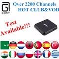 GOTiT M8S Android Box +Albanian Power IPTV H.265 Arabic French Germany Netherlands Portugal Italian Adult xxx Europe IPTV Box