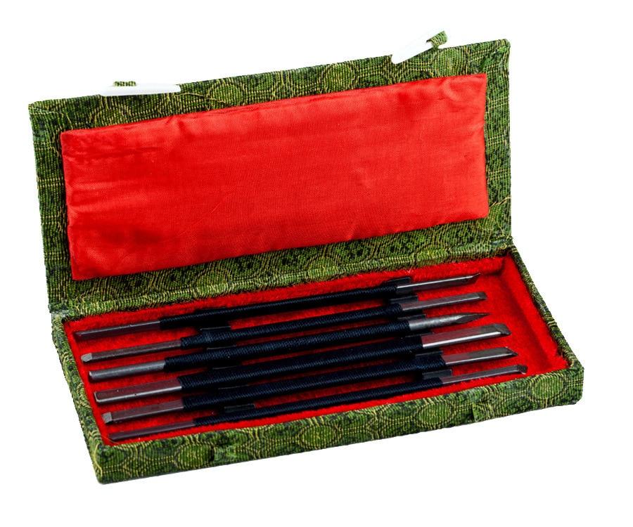 Qingtian stone carving beginners spring steel carving font b knife b font carving tools make graver