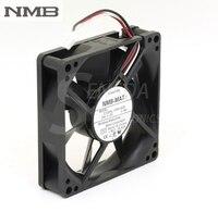 Original Para NMB 3108NL-05W-B49 8020 8 CM 24 V 0.14A três linha 3-pin alarme inversor ventiladores axiais