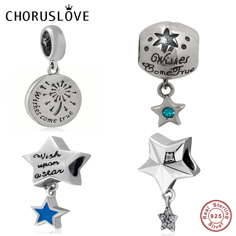 Choruslove Wish Your Dream Come True Charm Authentic 925