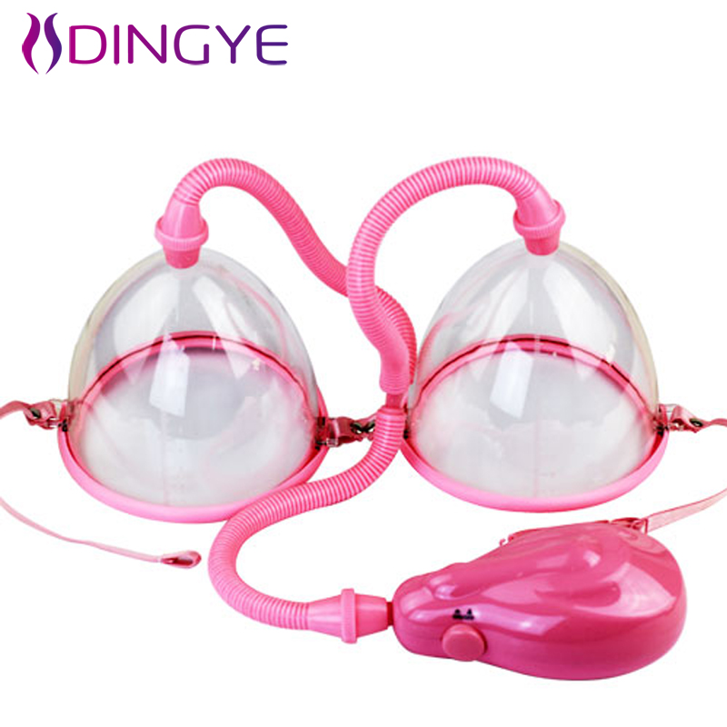 Electric Breast Pumps Enlargement electric Air Chest Pump Adult Sex Toys for Women Sex Products Breast Enlargement breast light detection device for the breast cancer self check up and breast clinical examination