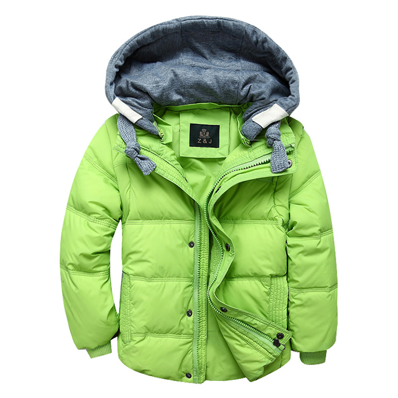 Boys Winter Jackets Removable Kids warm Down Parkas Vest Children's Hooded Coats Kids Thick Thermal Outdoor Outwear boys winter coats kids outwear kids clothes boys trench jackets size 6 15t warm kids outwear kids hooded coats brand retial