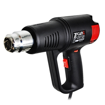 220V 1800W / 2000W 50-650 C LCD Display Multifunctional Industrial Electric Hot Air Gun Thermostat Different Nozzle Hot Air Gun