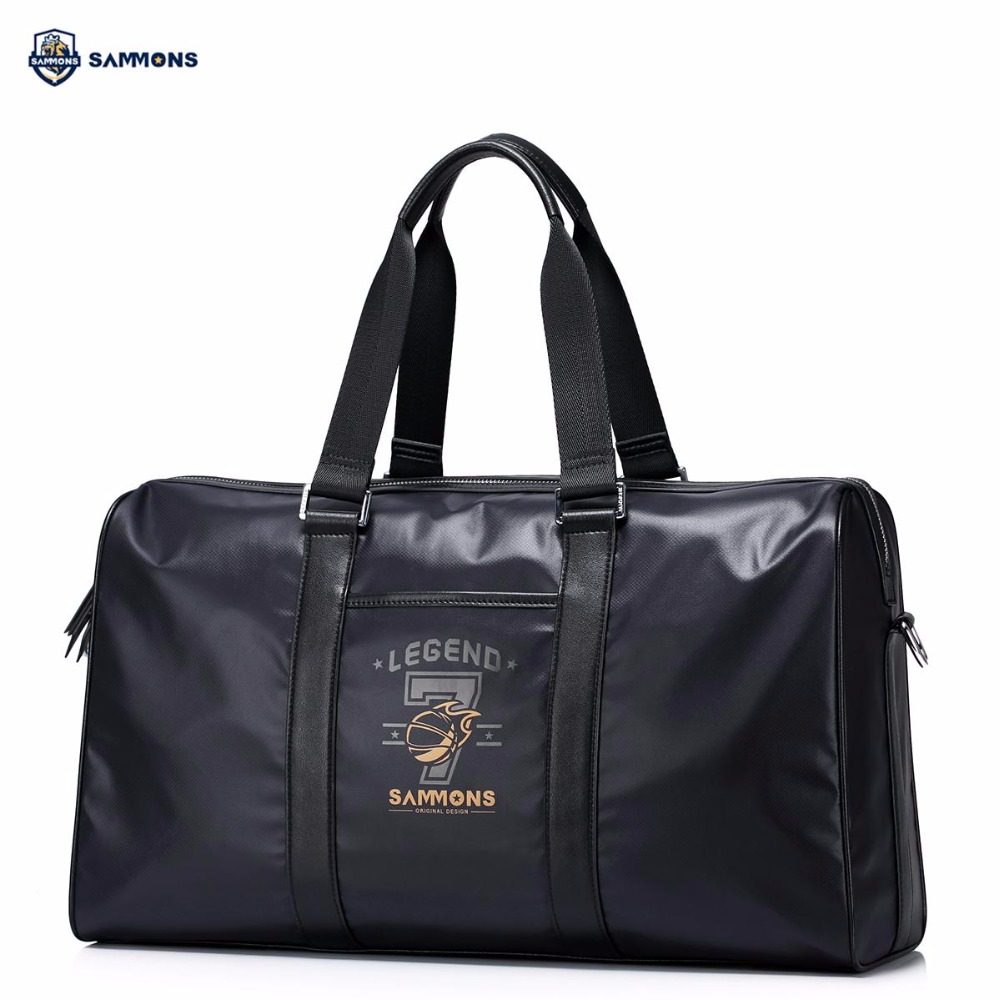 купить SAMMONS Brand Design Fashion Printing Waterproof Nylon Casual Men Travel Bags Handbag Crossbody Bag недорого