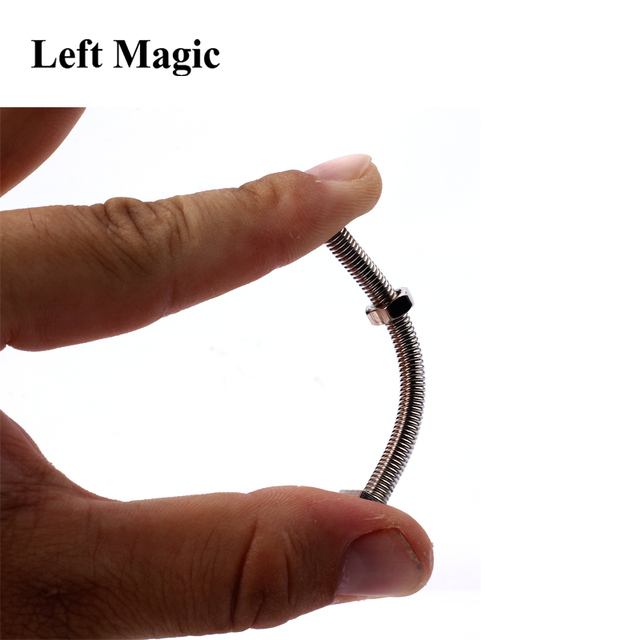 Strong Man Bending Screw Magic Tricks Close Up Street Magic Props Mentalism Professional For Magician Stage Magic Magic Toy 8041