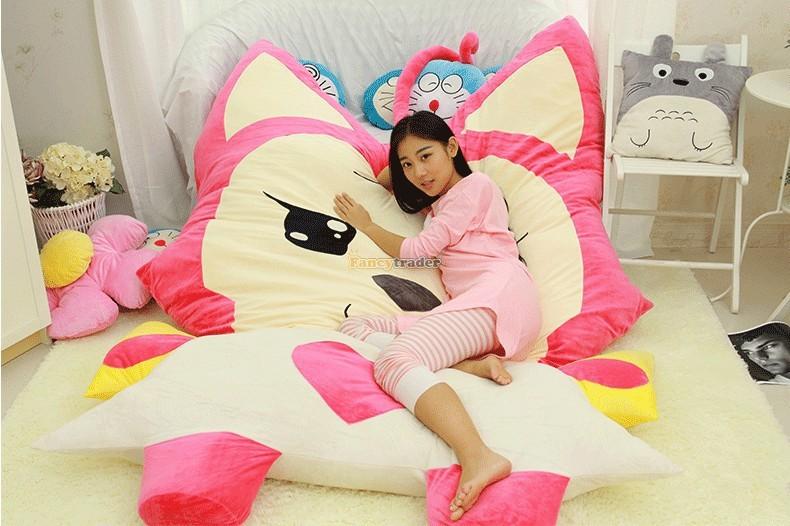 Fancytrader 230cm X 165cm Huge Giant Pink ALI Fox Bed Carpet Sofa Tatami, Free Shipping FT90360 (5)